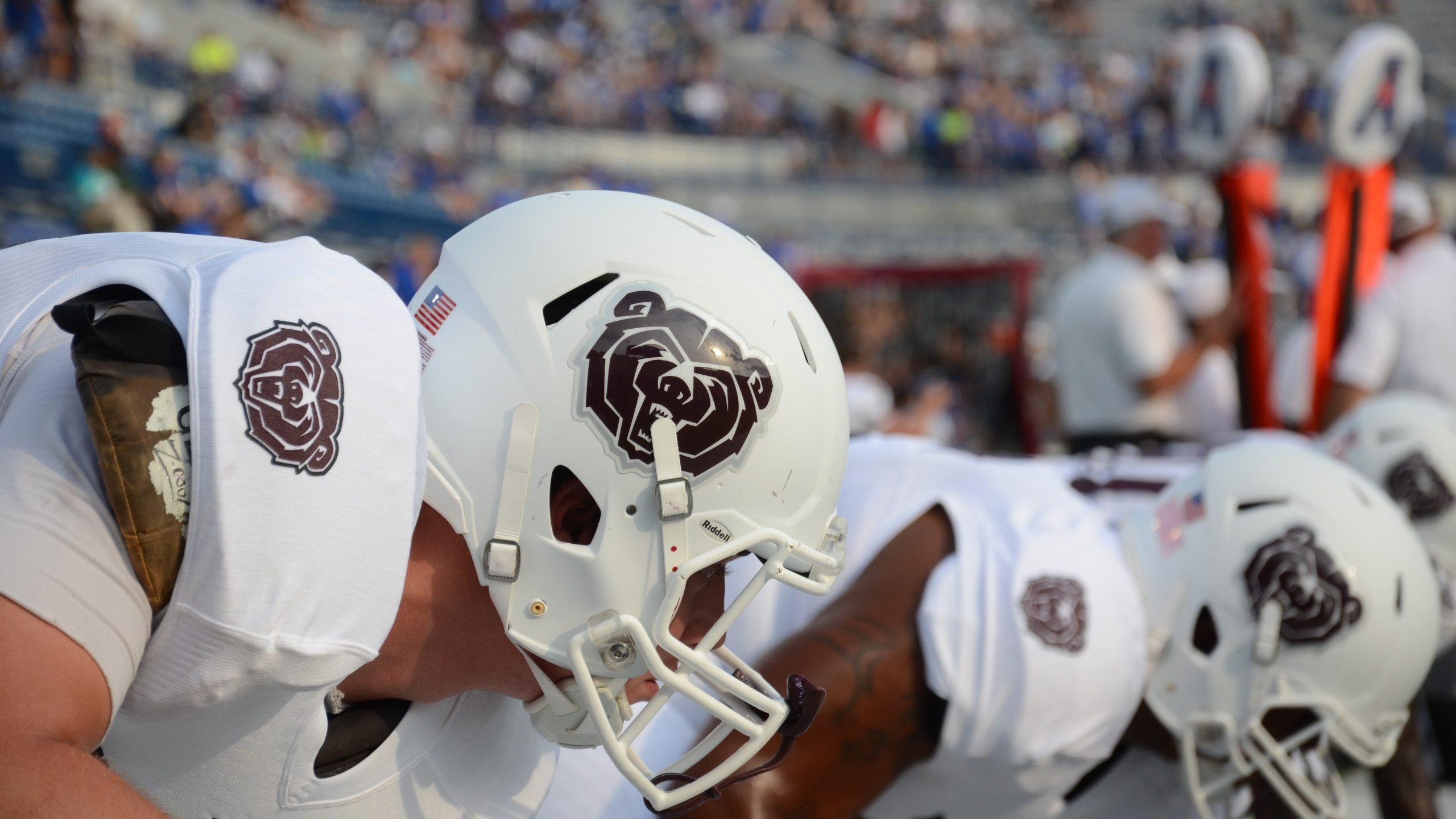 Missouri State Football Bear Helmet