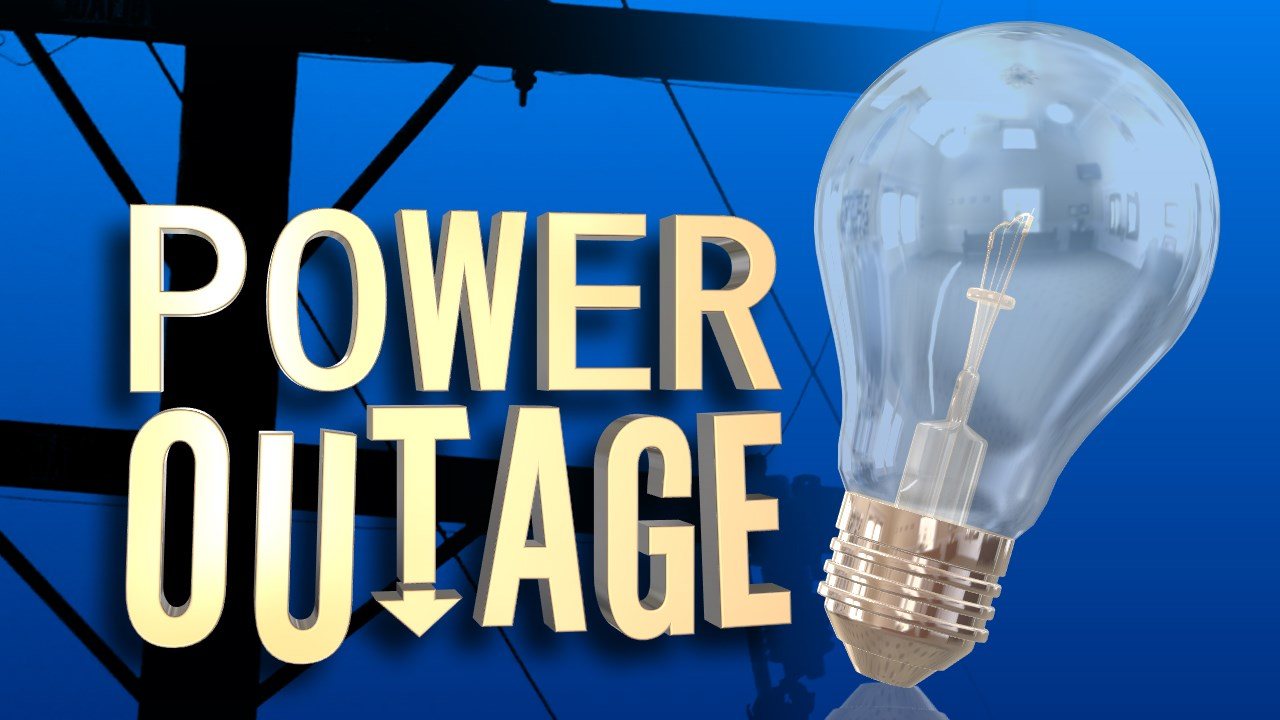power outage graphic