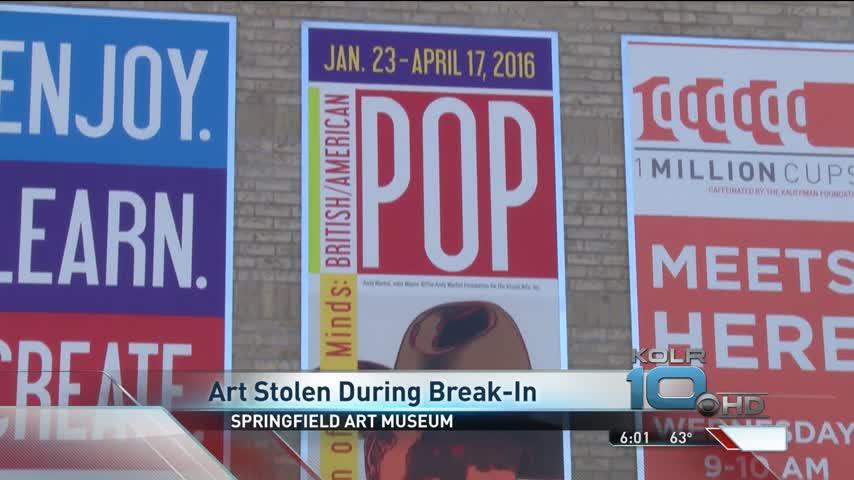 Police Investigate Break-In at Springfield Art Museum_62635543-159532