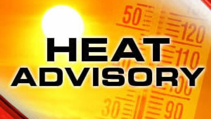 Heat Advisory for Springfield, cooling centers