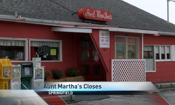 Aunt Martha's Pancake House Closes