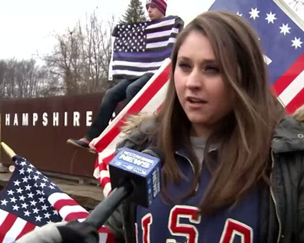Flag Protest and Rally at Hampshire College_12770039-159532
