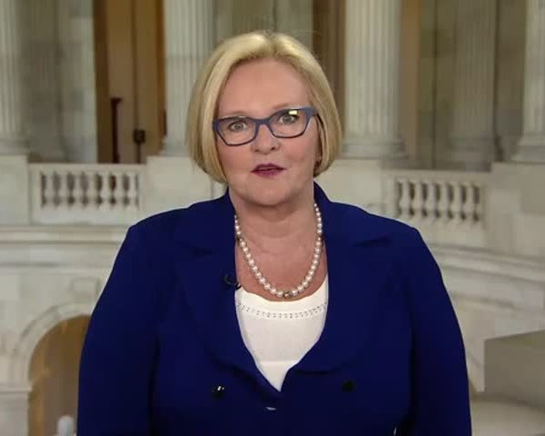 McCaskill Reacts to Clinton-s Clinching of Nomination_34712629-159532