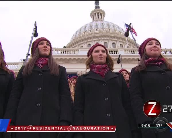 MSU Chorale Returns Home From Presidential Inauguration_80588615