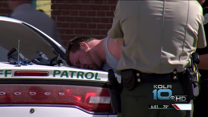 High-Speed Chase Ends In Downtown Branson_46138282