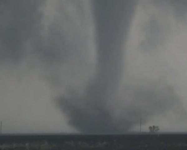 Tornado Rips Through Texas_98592287