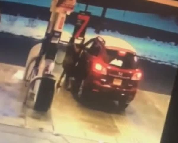 Caught on Camera- Gas Station Carjacking_06462494