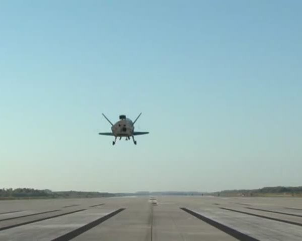 Air Force Space Plane Lands After Secret Mission_73565327