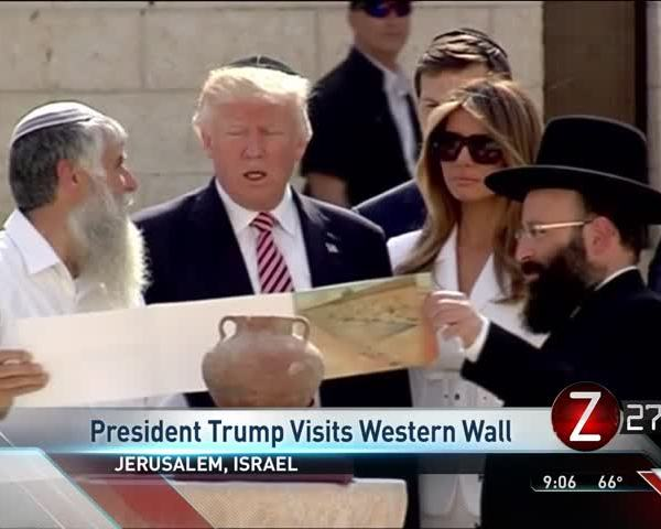 Trump Visits Jerusalem-s Western Wall_38691923
