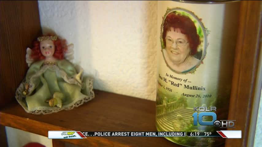 Mother's Ashes Stolen