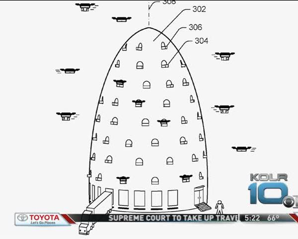 Amazon Patents Beehive-Shaped Towers_31467438