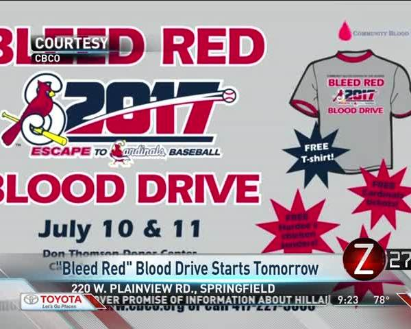Bleed Red Blood Drive Prepares to Kick Off Annual Event_25466075