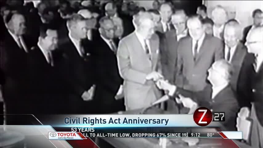 Sunday Marks Civil Rights Act 53rd Anniversary_52111738