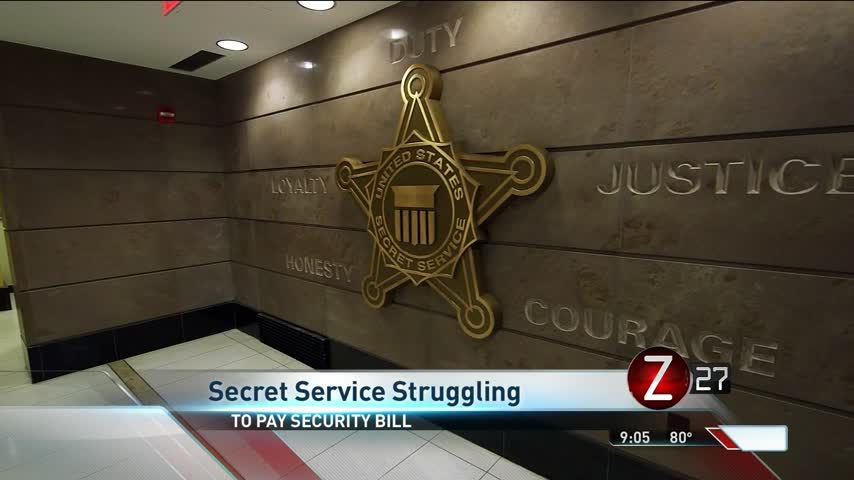 Secret Service Struggling