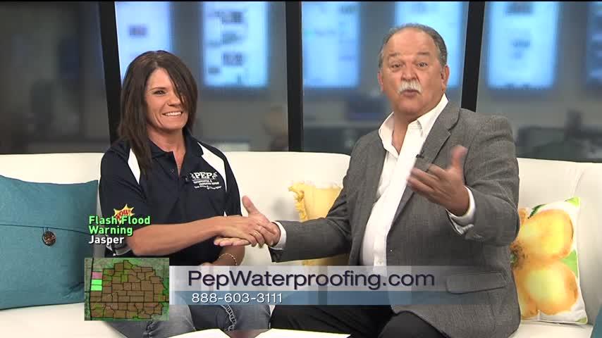Pep Waterproofing - 8/16/17