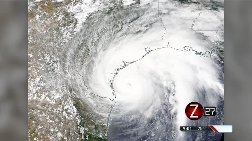 Hurricane Harvey Nears Texas Coast_29349410