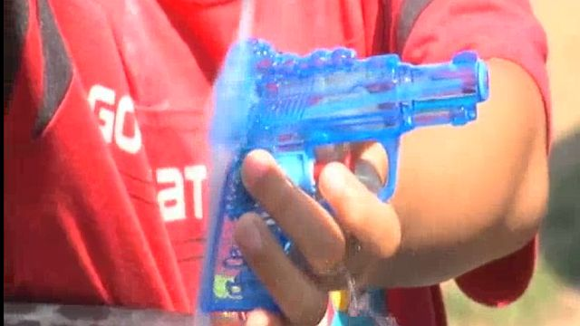 Marian Days water gun fight_1501845942665.jpg
