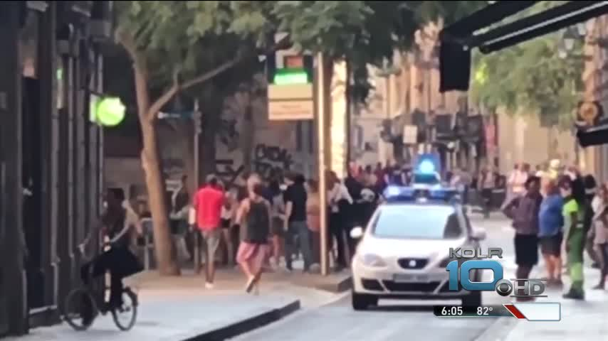 Oklahoma Man in Barcelona Not Surprised After Attack_07521589