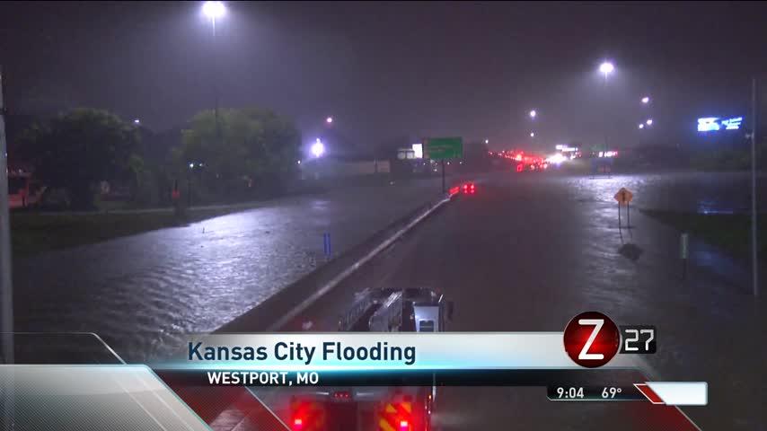 Rain Floods Areas in Kansas City_29848495