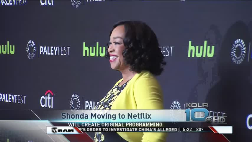 Shonda Rhimes to Move Company to Netflix_26524512