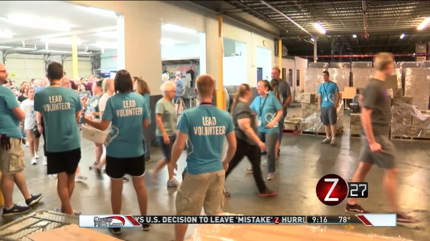 Convoy of Hope Volunteers Help In Hurricane Relief_40484370