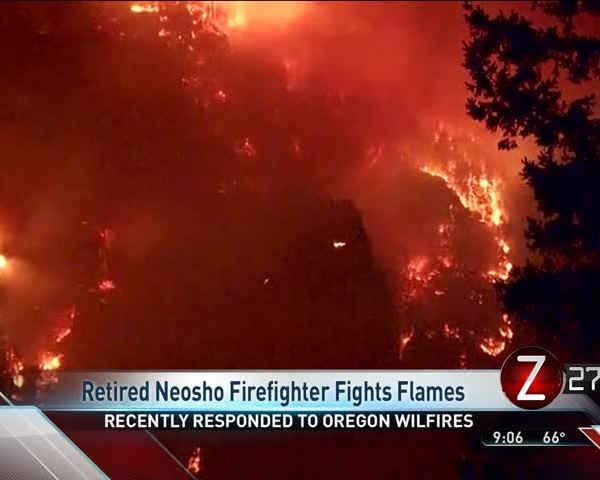 Former Neosho Fire Chief Joins Wildfire Fight in Oregon_64982742
