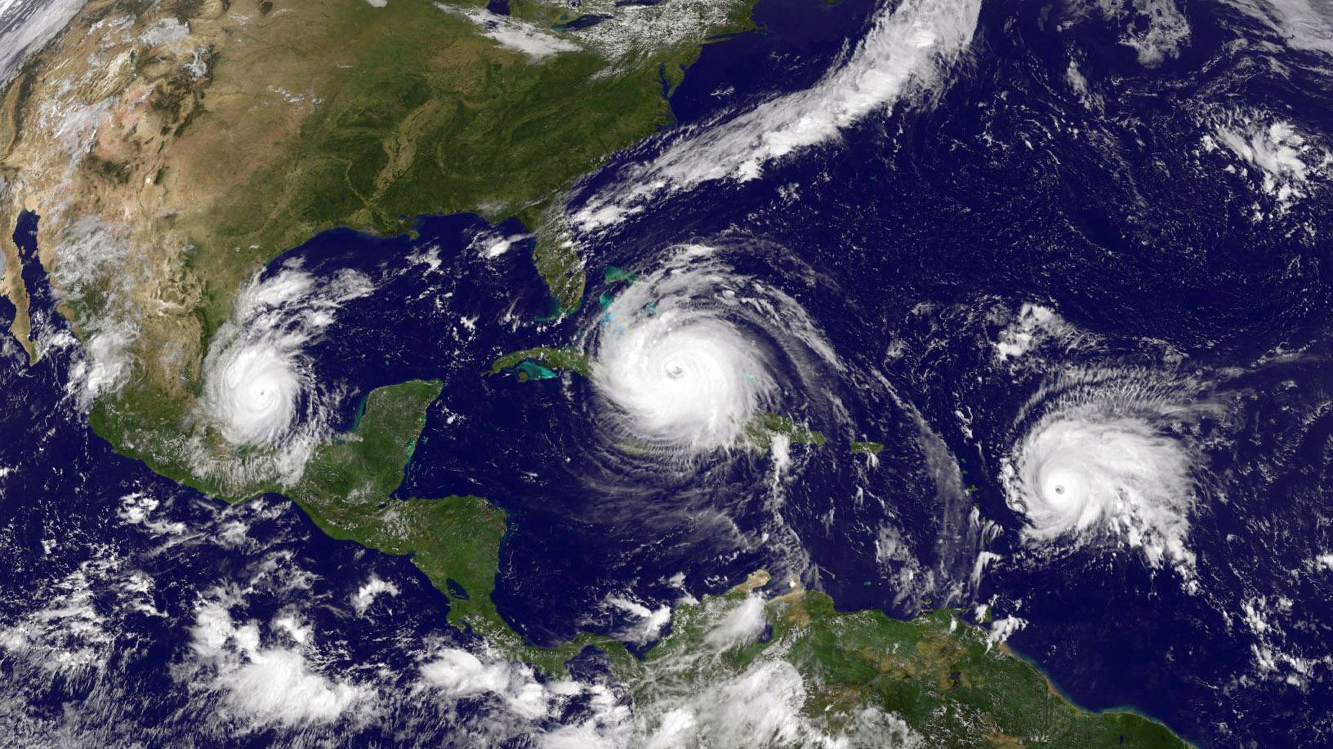 Hurricane Irma, Jose, Katia, three hurricanes45976953-159532