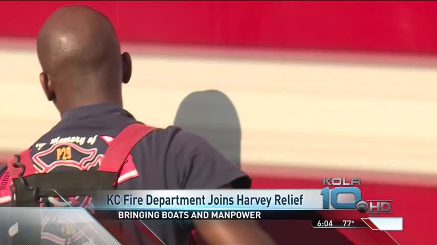 Kansas- Missouri Fire Departments Send Teams to Texas_90738778