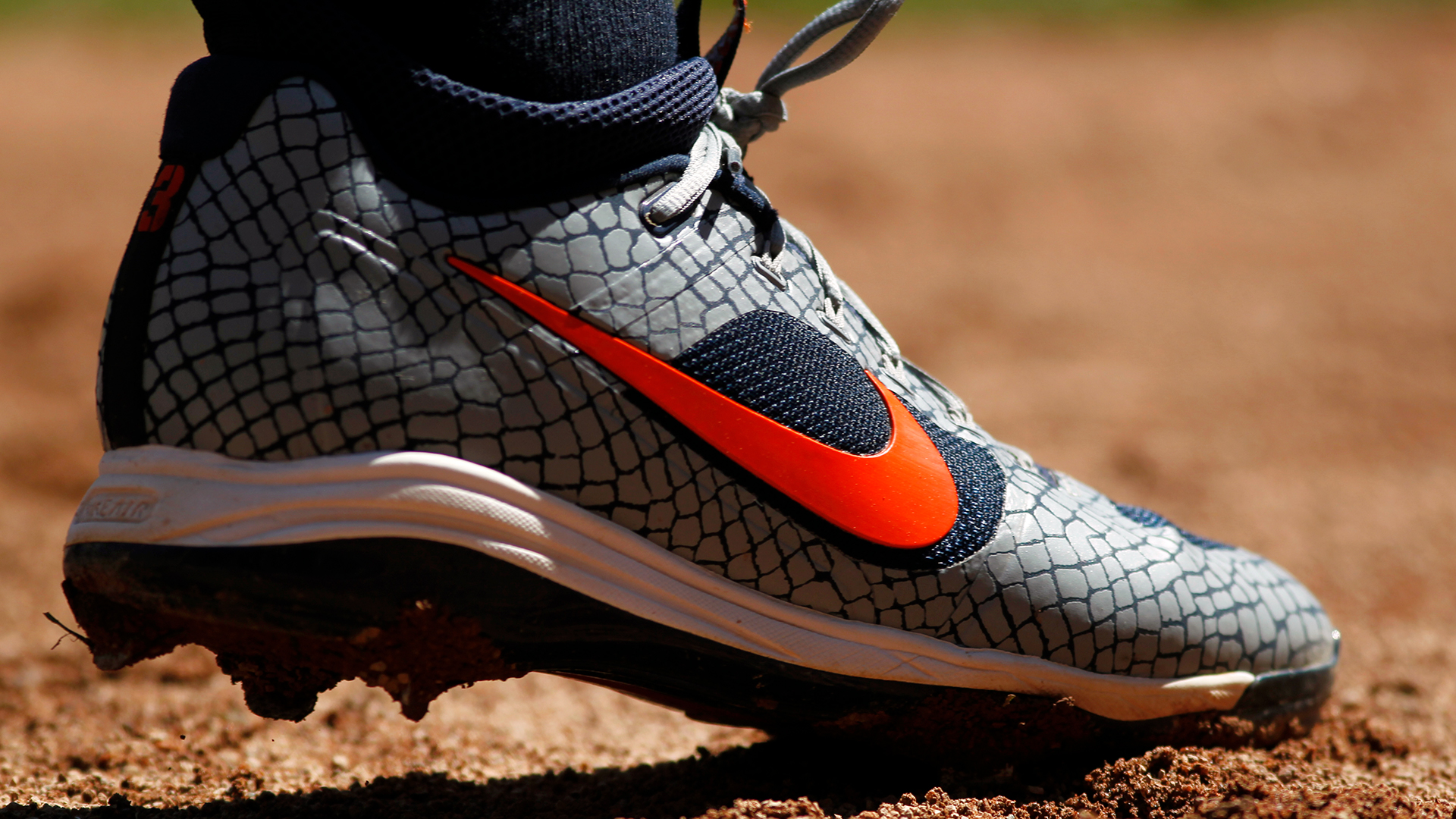 Nike shoe of Ian Kinsler-159532.jpg18709400