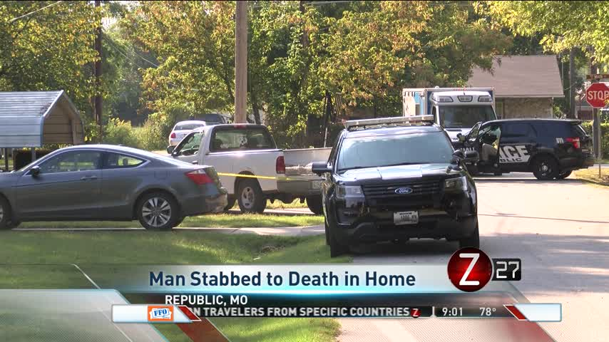 Police- Man Fatally Stabbed at Republic Home_96191470