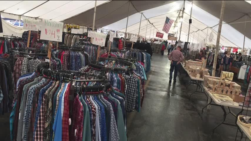 PFI Tent Sale - Randy Little - 10/4/17