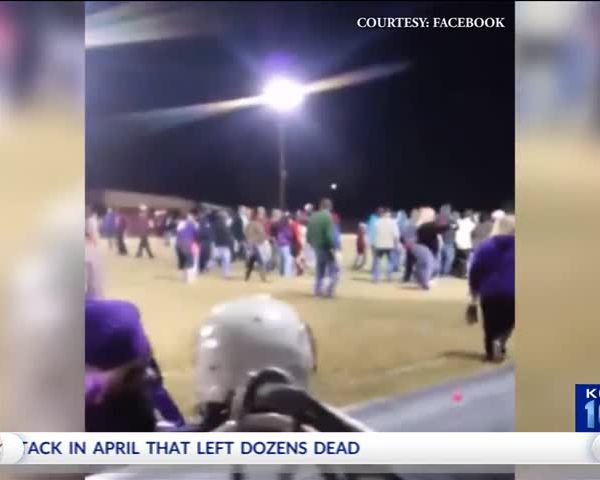 Fight Breaks Out at Pee Wee Football Game_62278312