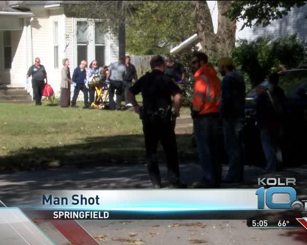 MAN SHOT IN LEG_58175028