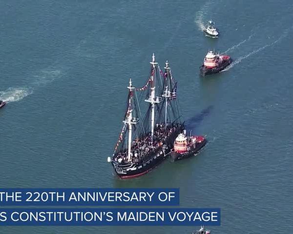 WEB EXTRA- USS Constitution Celebrates Navy-s 242nd Birthday_80749250