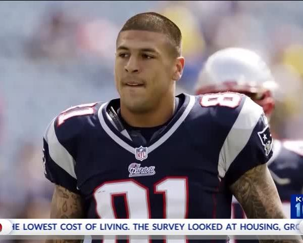 Large Holes, Sign of CTE, Found in Aaron Hernandez's Brain