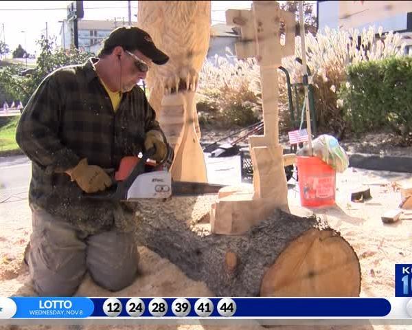 Branson Chainsaw Art for Veterans_24796564