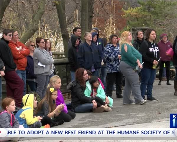 Ceremony Hosted at Dickerson Park Zoo in Honor of Henry the_23222068