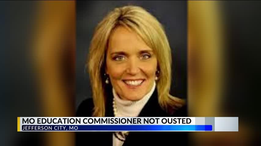 Missouri Education Commissioner Keeps Job After 4-4 Vote_01319274