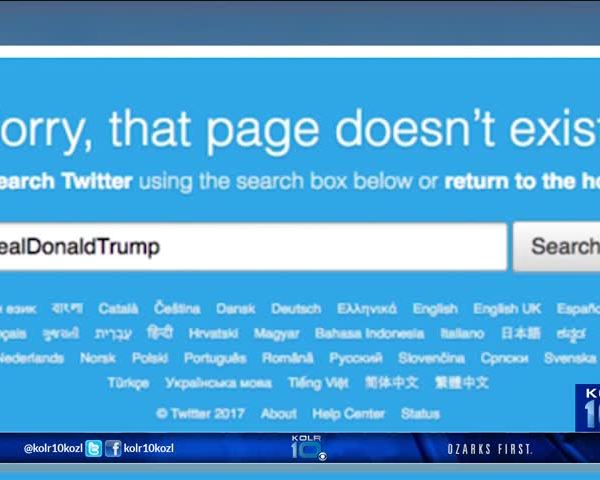 President Trump Responds to Twitter Getting Deleted_43935707