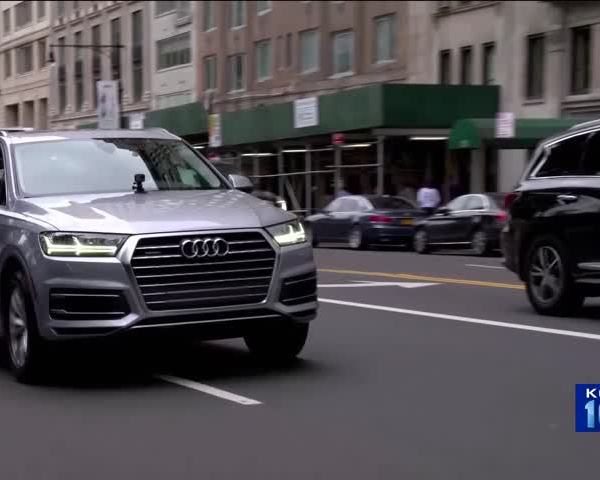 Self-Driving Cars Could in New York City-s Near Future_86868850