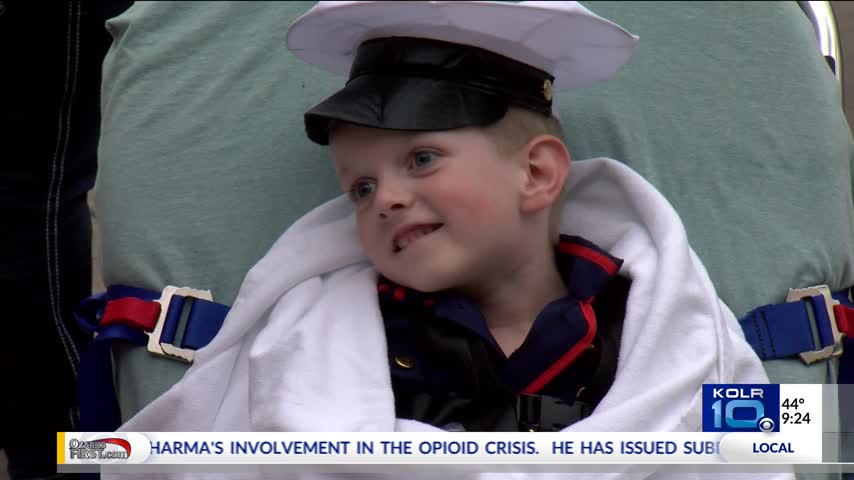Taney County Boy Gets a Sweet Halloween Surprise_13251103