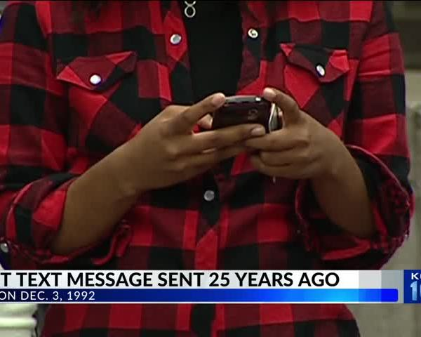 25th Anniversary of the First Text Message_52318214