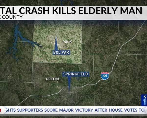 Bolivar Man Dies in Single-Vehicle Crash in Polk County_69056419