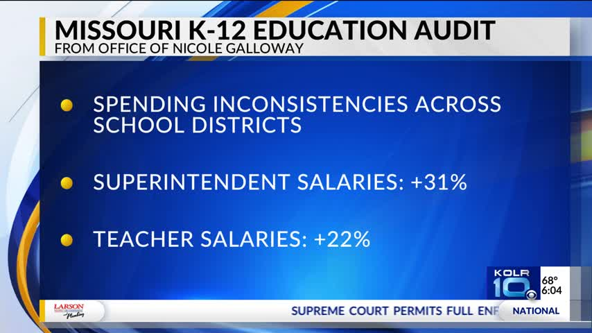 State Auditor Releases Report on Educational Finance Data_34654698