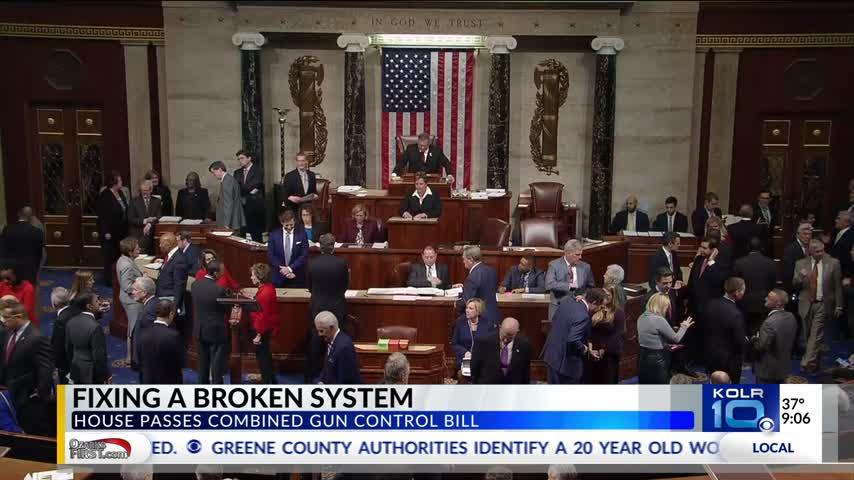 U-S- House Passes Gun Bill- Lawmakers Fear It Will Stall Fix_37022875