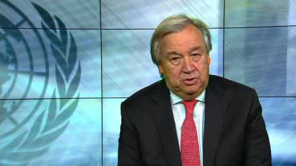 United Nations Chief Issues 'Red Alert' for the World