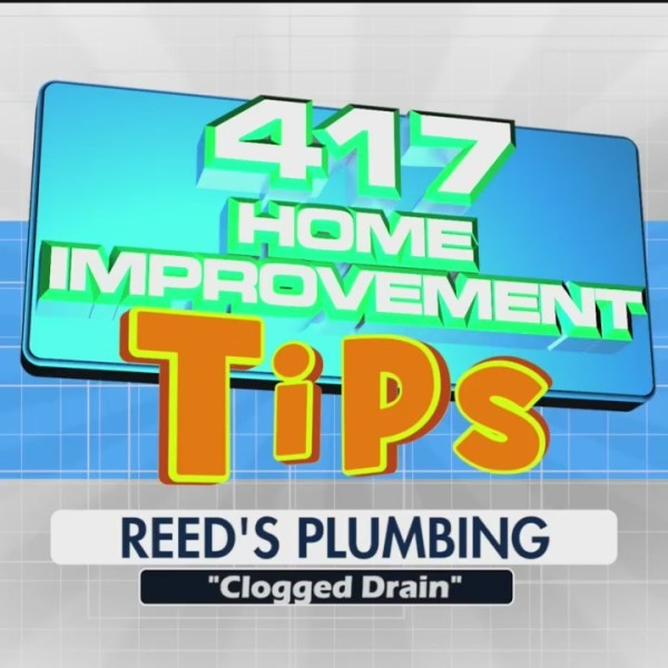 Reeds Plumbing - 417 Home Improvement Tips - Clogged Drain