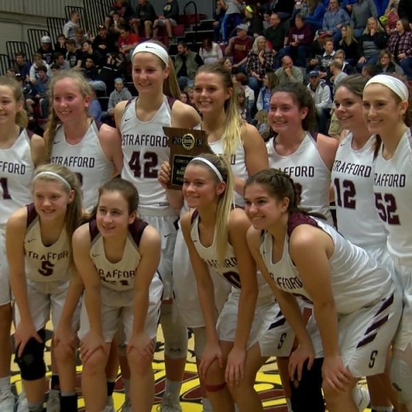 Strafford girls win district