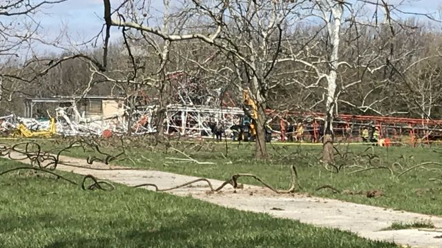 BREAKING NEWS: One Dead in Tower Collapse in Fordland
