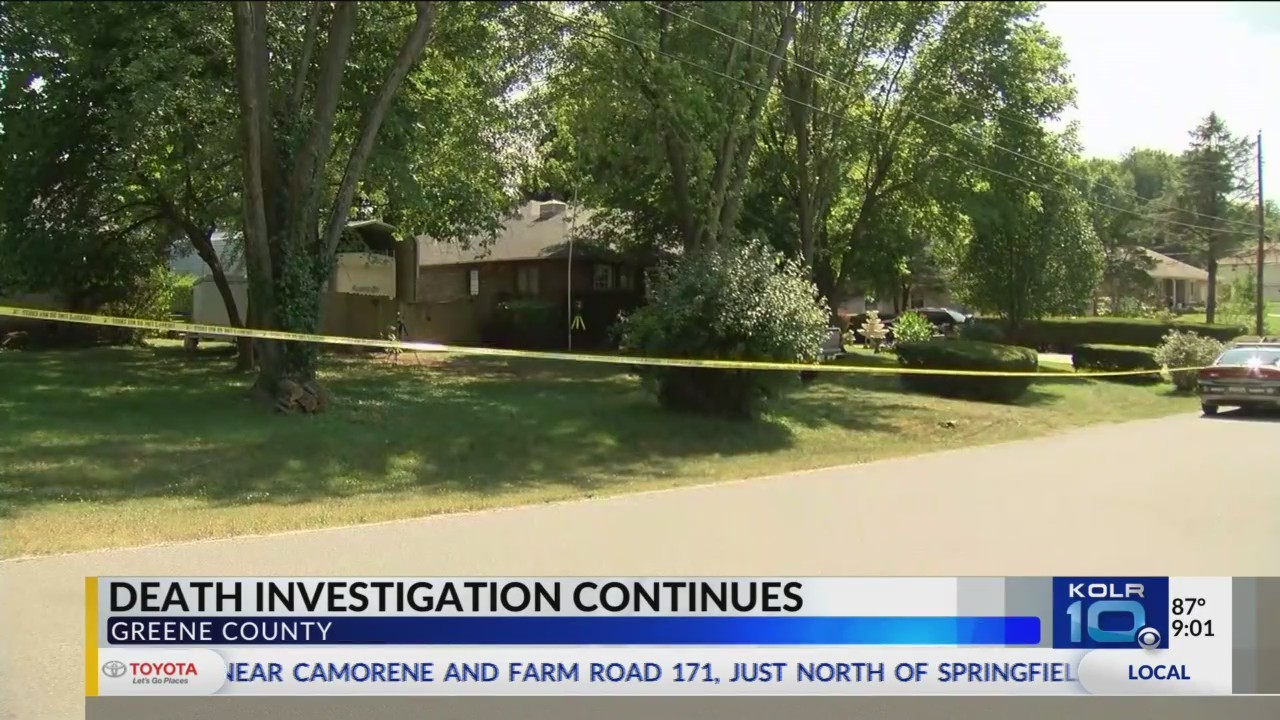 Ongoing Death Investigation in Greene County